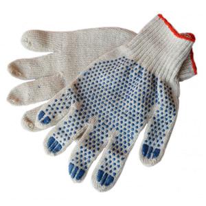 Хлопчатобумажные перчатки с ПВХ